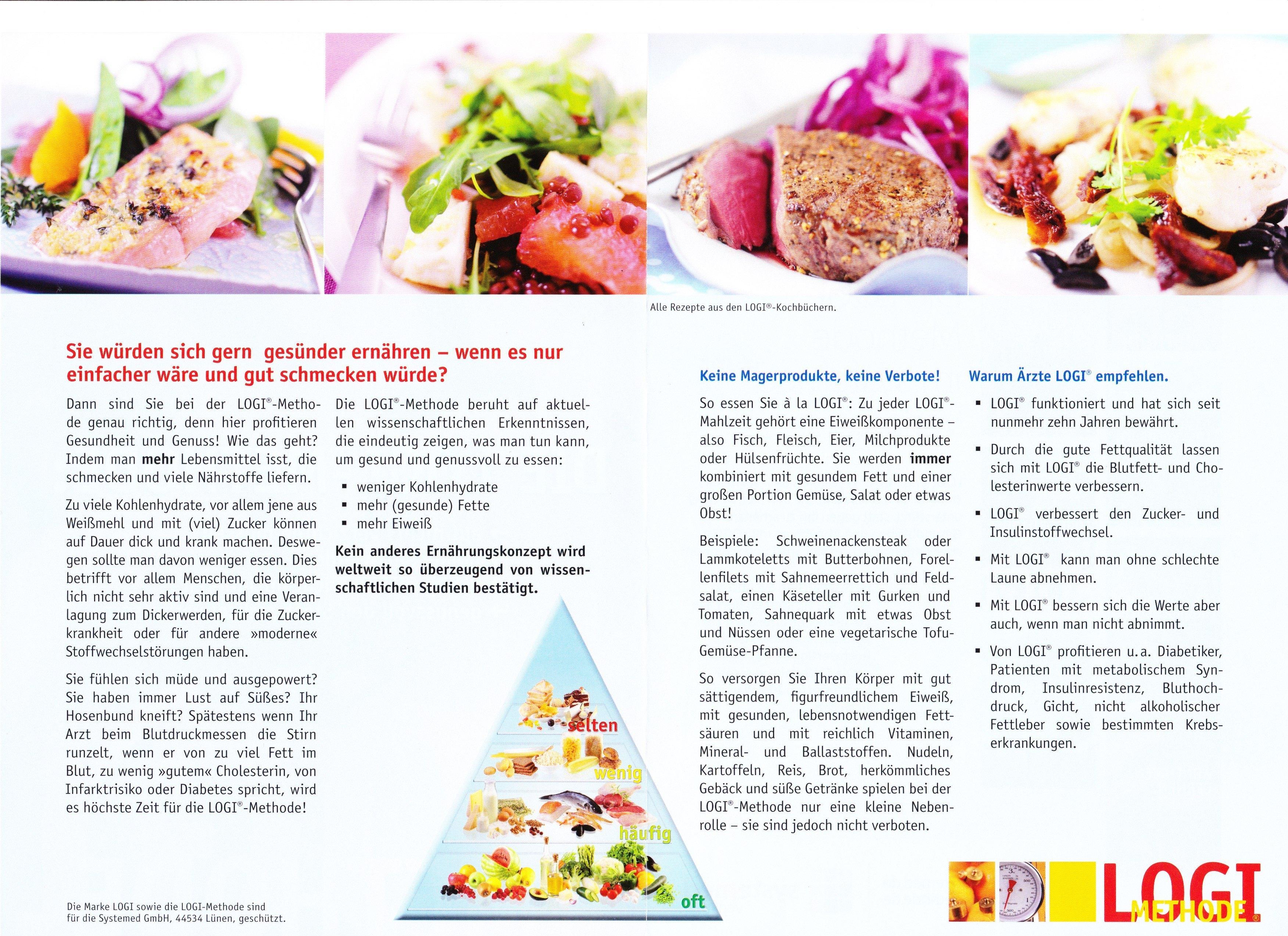 Logi kost ernährungsplan - Gesunde Ernährung Lebensmittel